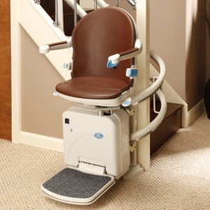 Sterling Handicare 2000 curved stairlift Atlanta Stair lifts